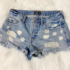 Abercrombie & Fitch Harper Low Rise Short 27/4